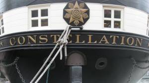 USS Constellation stern