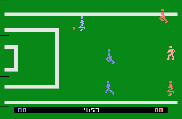Screenshot of FIFA 10 for the PS3.