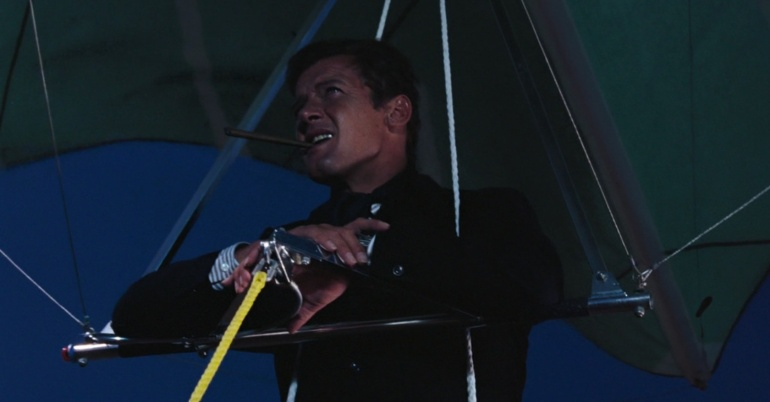 007 hang gliding in a suit